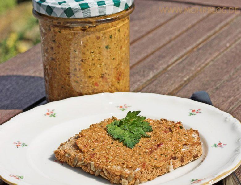 Tomaten-Sonnenblumen-Paté