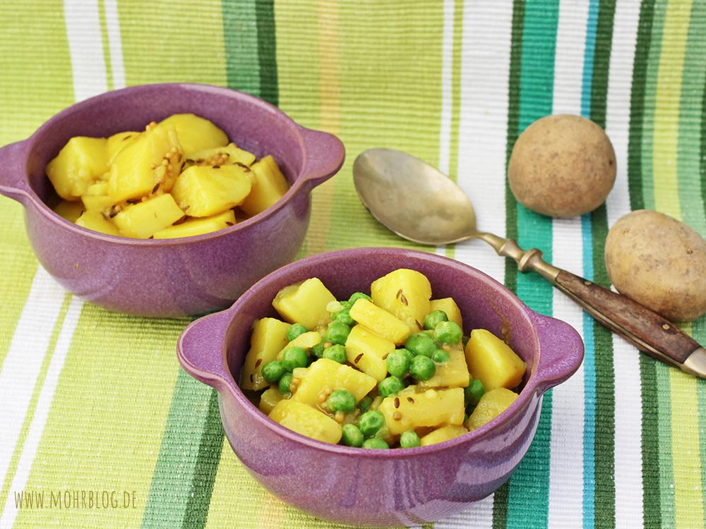 """Schnelles Kartoffelcurry – oder """"preiswerte Corona-Küche"""""""