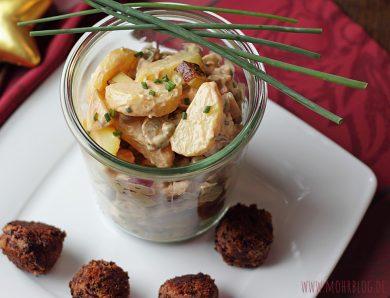 """Kartoffelsalat – klassisch, aber ohne """"Muh"""" und """"Kikeriki"""""""