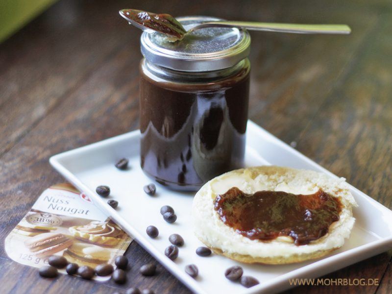 Kaffee-Nougat-Gelée