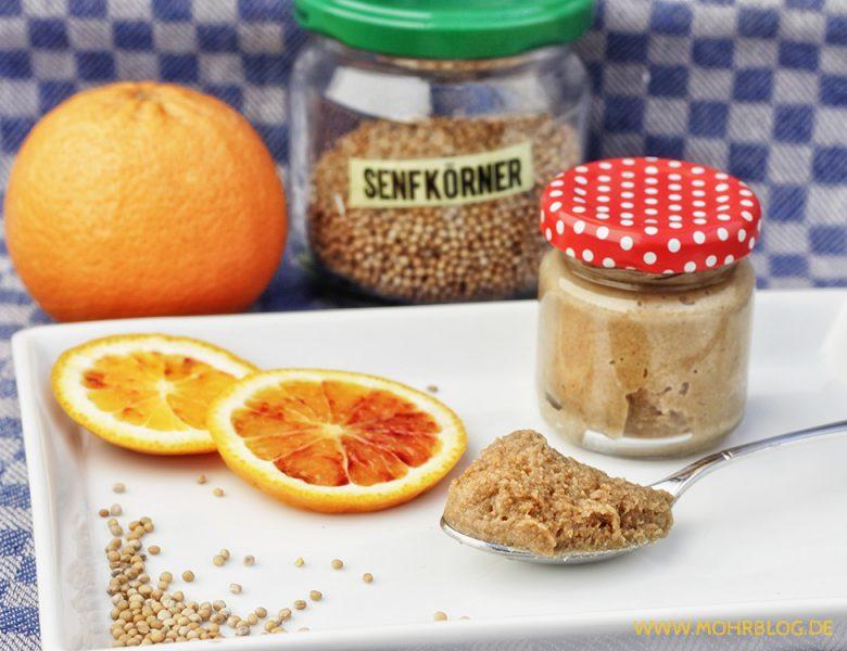 Orangensenf – hausgemacht und fruchtig-gut