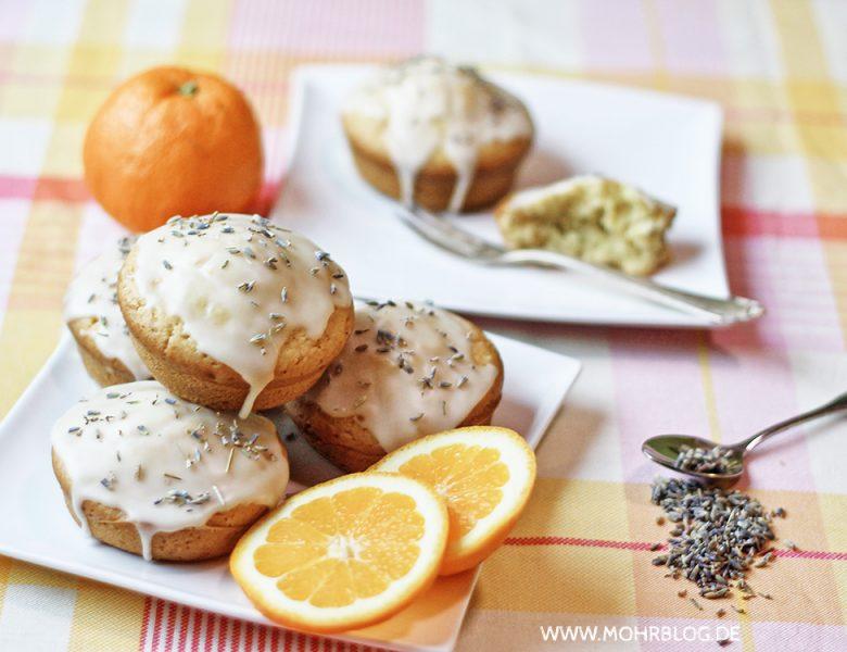 Orangen-Lavendel-Törtchen –  Sommer auf dem Kuchenteller