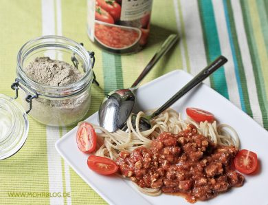 Selbst-Mix-Fix-Pulver für Sauce Bolognese