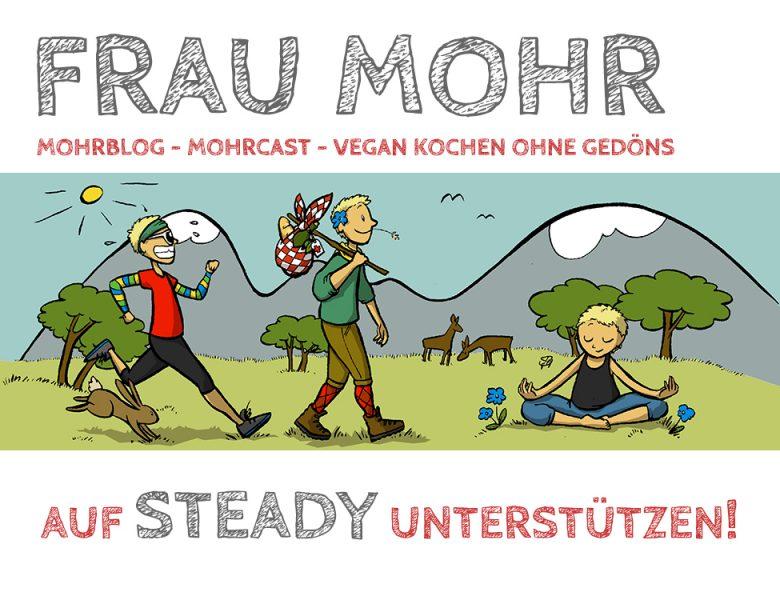 Ready, STEADY, go! – Werde Mohrblog-Unterstützer!