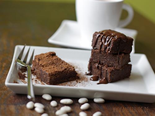 Bohnen-Brownies (ohne Mehl)