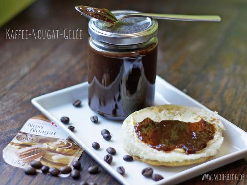 Kaffee-Nougatgelée