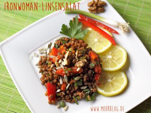 Ironwoman-Linsensalat