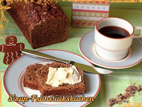 Sirup-Frühstückskuchen