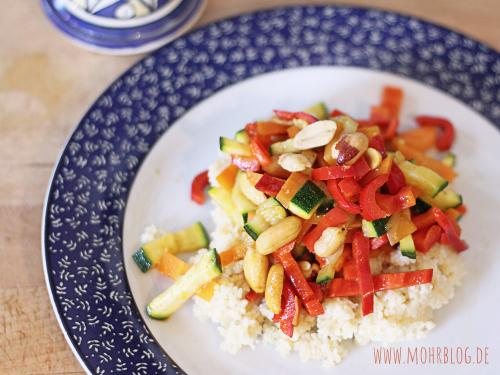 Erdnussiges Gemüse