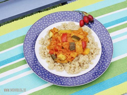 Sauerkraut mit Gemüse