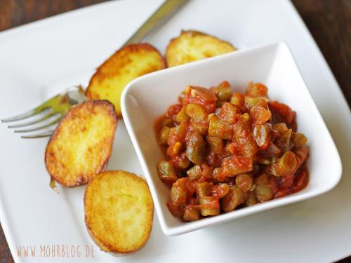 Tomatige Bohnen