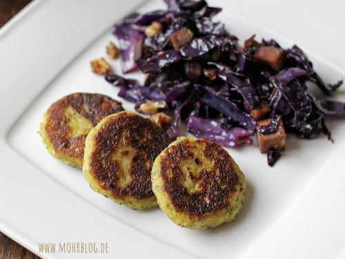 Kartoffel-/Nudel-Plätzchen